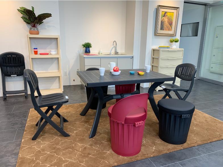 DSP | 鬆餅儲物椅凳